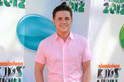 Jesse McCartney Leather Lace-ups