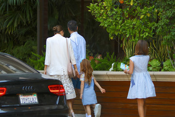 Jessica Alba Cash Warren Jessica Alba Celebrates Father's Day With Her Family
