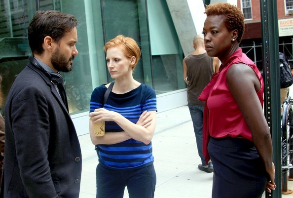 Jessica Chastain and Viola Davis Film 'Eleanor Rigby'