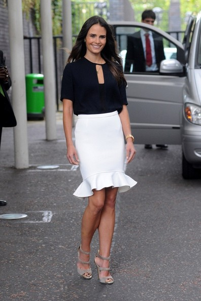 Jordana Brewster Pencil Skirt