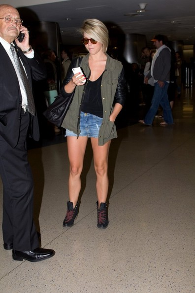 More Pics of Julianne Hough Denim Shorts (1 of 30) - Julianne Hough Lookbook - StyleBistro
