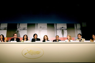 Isabelle Huppert Asia Argento Jury Members Photocall and press conference