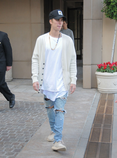 More Pics of Justin Bieber Crosstrainers (1 of 5) - Athletic Shoes Lookbook - StyleBistro []