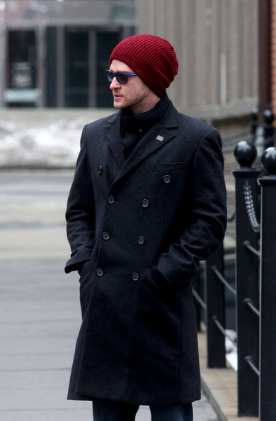 More Pics of Justin Timberlake Wool Cap (1 of 4) - Wool Cap Lookbook - StyleBistro