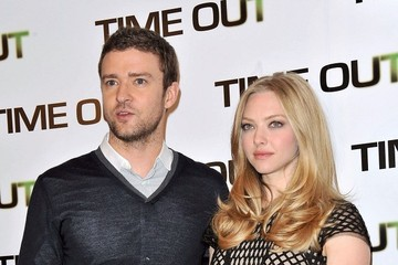 "Justin Timberlake Amanda Seyfried Photo Call for ""In Time"""