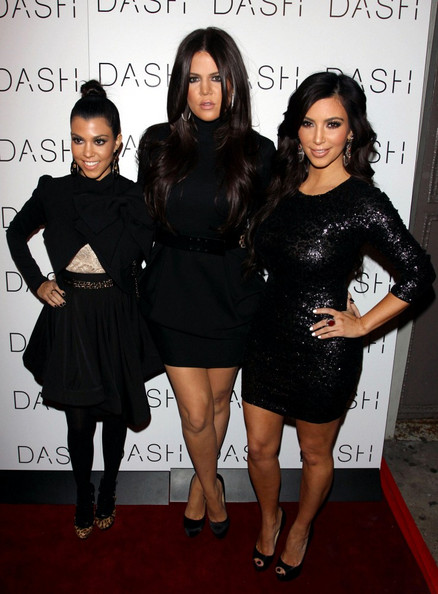 Kim+Kardashian in The Kardashian Girls Open DASH NYC