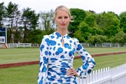 Karolina Kurkova Print Dress
