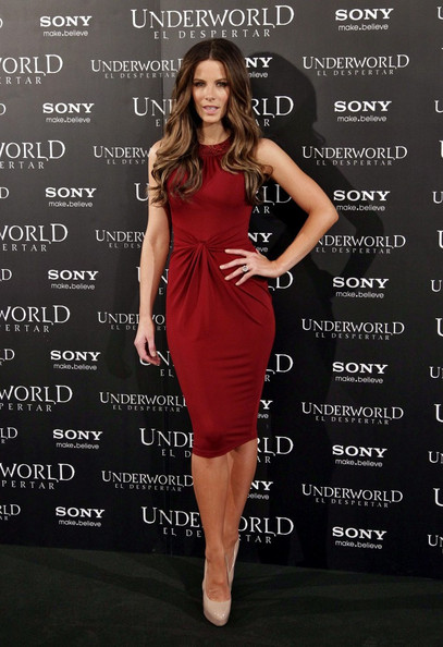 Kate Beckinsale Platform Pumps