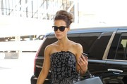 Kate Beckinsale Leather Tote