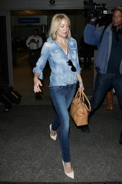 Kate Hudson Leather Tote []