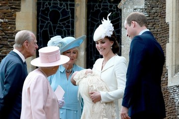 Kate Middleton Camilla Parker Bowles The Christening of Princess Charlotte