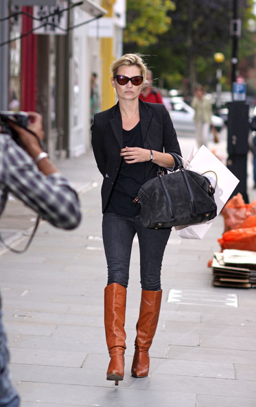 Kate Moss Suede Tote