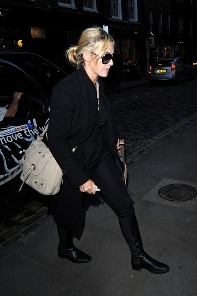 Kate Winslet Out Late in London