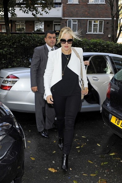 Kate Winslet Out and About in London