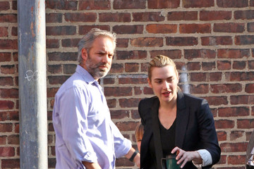 Kate Winslet Sam Mendes Kate and Sam Pick up the Kids