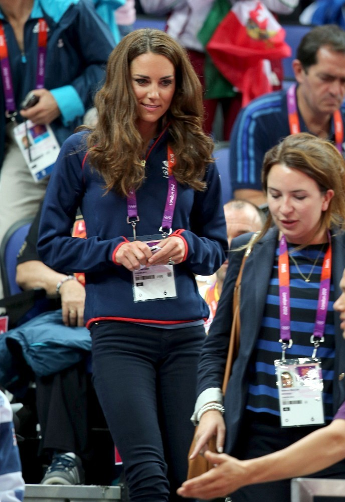 Kate in Adidas - Kate Middleton's London 2012 Olympic ...