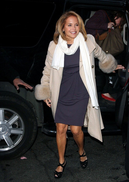 Katie Couric Platform Sandals