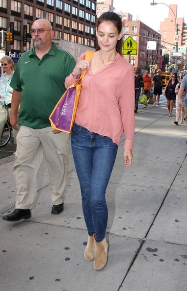 Katie Holmes Ankle Boots []