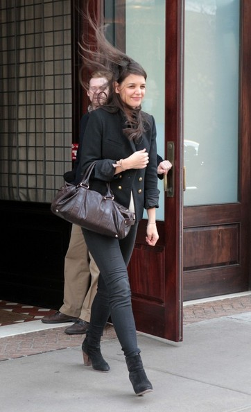 More Pics of Katie Holmes Skinny Pants (6 of 15) - Jeans Lookbook - StyleBistro