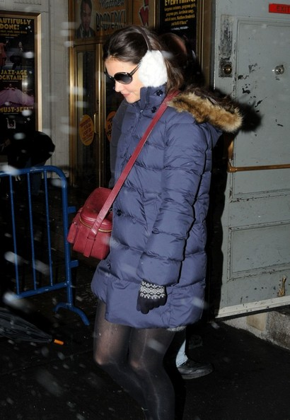 More Pics of Katie Holmes Ankle Boots (2 of 8) - Katie Holmes Lookbook - StyleBistro []