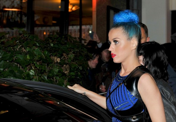 More Pics of Katy Perry Leather Jacket (1 of 6) - Katy Perry Lookbook - StyleBistro