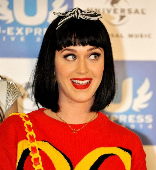 Katy Perry Gold Pendant []