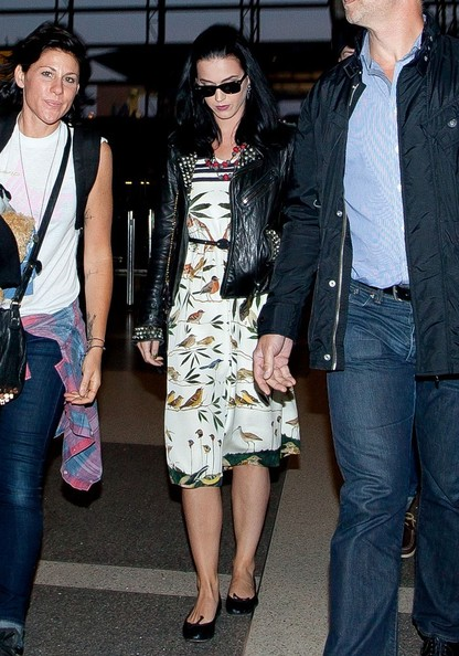 More Pics of Katy Perry Leather Jacket (2 of 18) - Katy Perry Lookbook - StyleBistro