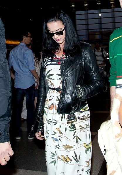 More Pics of Katy Perry Leather Jacket (3 of 18) - Katy Perry Lookbook - StyleBistro