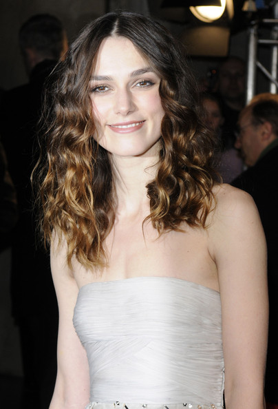 Keira Knightley Long Curls