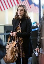 Keira looked sophisticated and chic with a timeless well-structed jacket.
