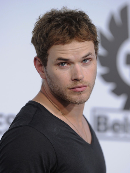 Kellan Lutz Messy Cut