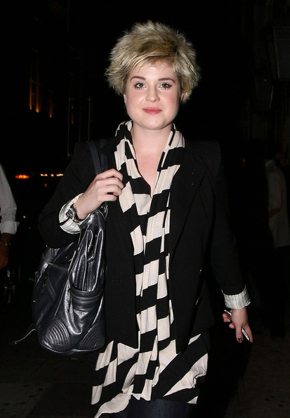 Kelly Osbourne Leather Shoulder Bag