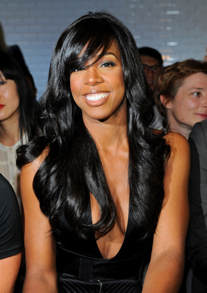 Kelly+Rowland in Kelly Rowland at Gaultier