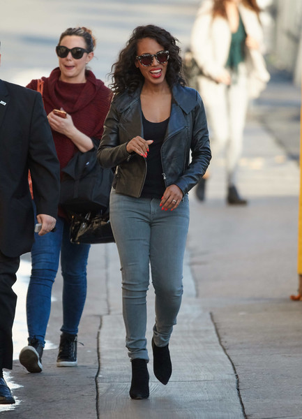 Kerry Washington Leather Jacket