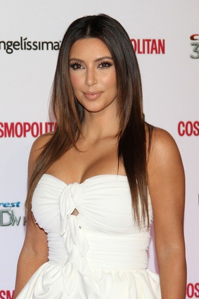 Kim Kardashian Layered Cut