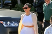 Kim Kardashian Long Skirt