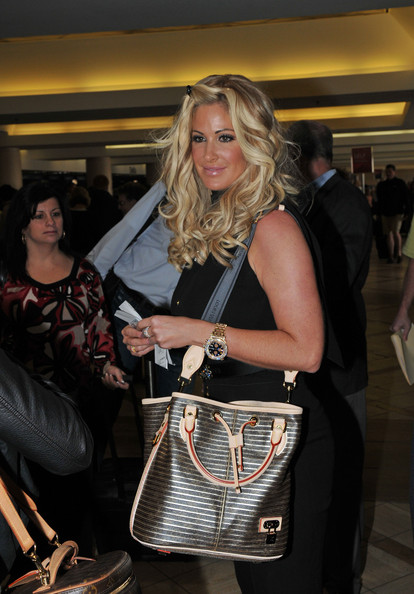 More Pics of Kim Zolciak Sterling Hoops (1 of 9) - Kim Zolciak Lookbook - StyleBistro
