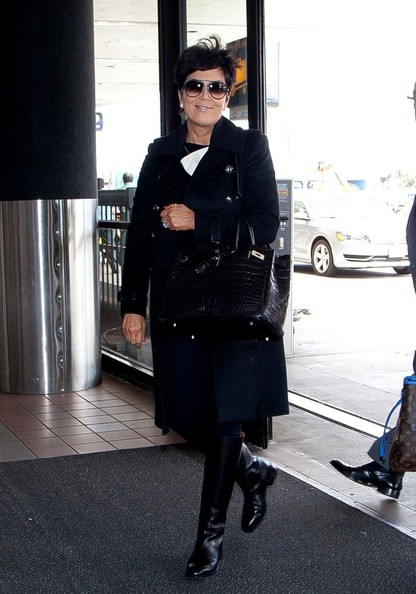 Kris Jenner Wool Coat