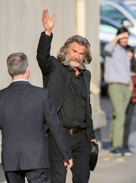 Kurt Russell at 'Jimmy Kimmel Live!'