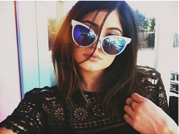 7b7f5186c4012 Kylie Jenner Cateye Sunglasses - Kylie Jenner Classic Sunglasses ...