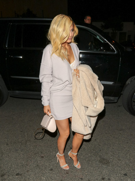 Kylie Jenner Strappy Sandals