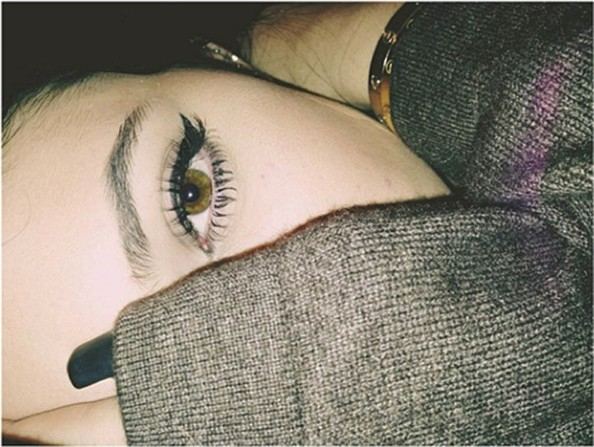 Kylie Jenner Cat Eyes