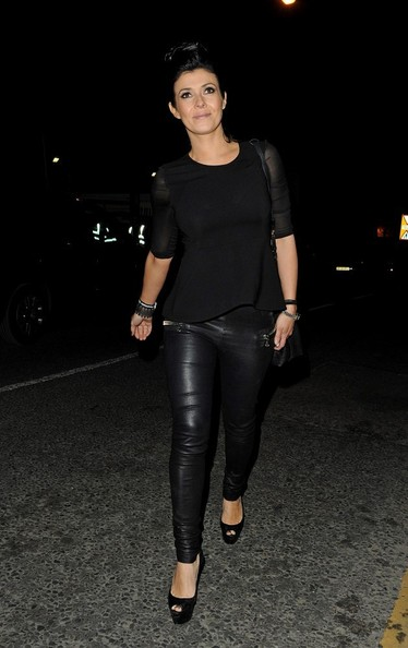 Kym Marsh Peplum Top