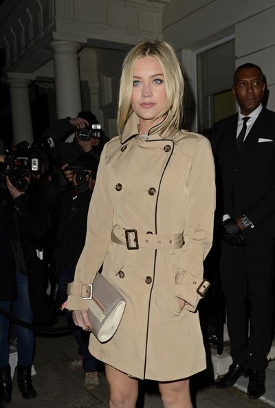 More Pics of Laura Whitmore Trenchcoat (1 of 6) - Trenchcoat Lookbook - StyleBistro