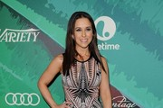 Lacey Chabert Print Dress