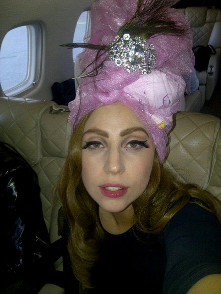 Lady Gaga Turban