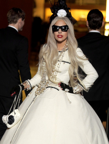 Lady Gaga Quilted Purse