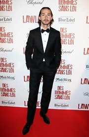 Shia LaBeouf oozed classic elegance in his black tux at the 'Lawless' after-party.