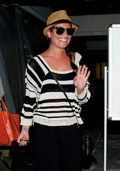 Lea Michele Scoopneck Sweater