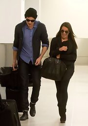 Cory Monteith loves to keep his look casual but stylish, as he showed when he sported a classic button down.